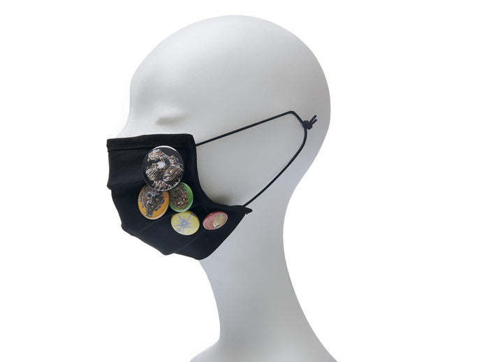 Community Mouth Nose Mask - black