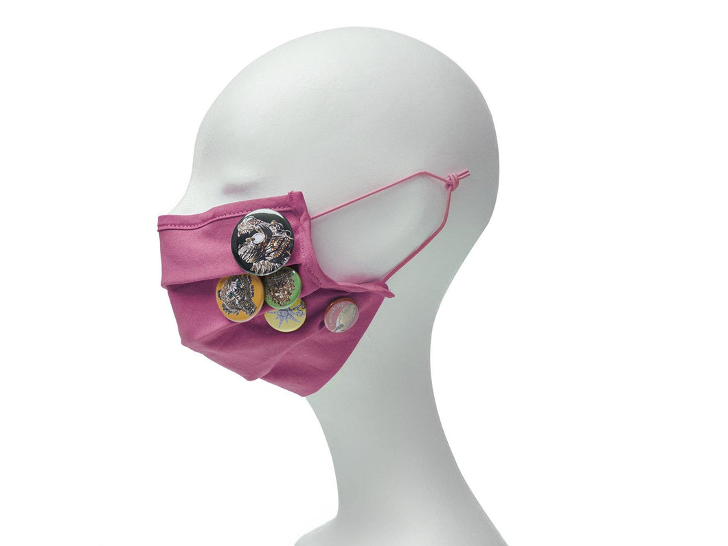 Community Mouth Nose Mask - pink
