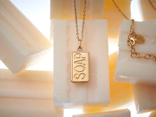 Soap Charm Necklace Short