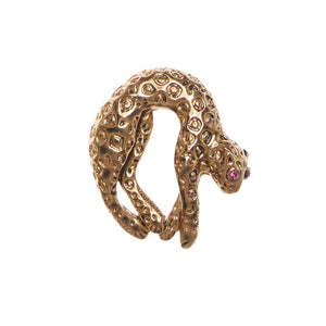 Watch Candy Bracelet - Gold Panther P