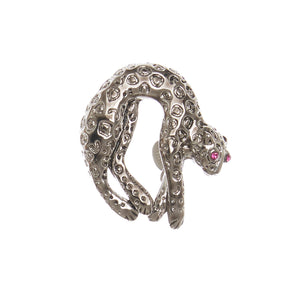 Watch Candy Bracelet - Silver Panther P