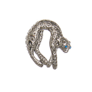 Watch Candy Choker - Silver Panther B