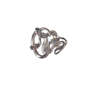 Watch Candy Choker - Silver Snake