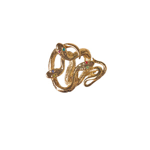 Watch Candy Choker - Gold Snake