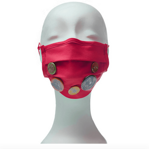 Community Mouth Nose Mask - red