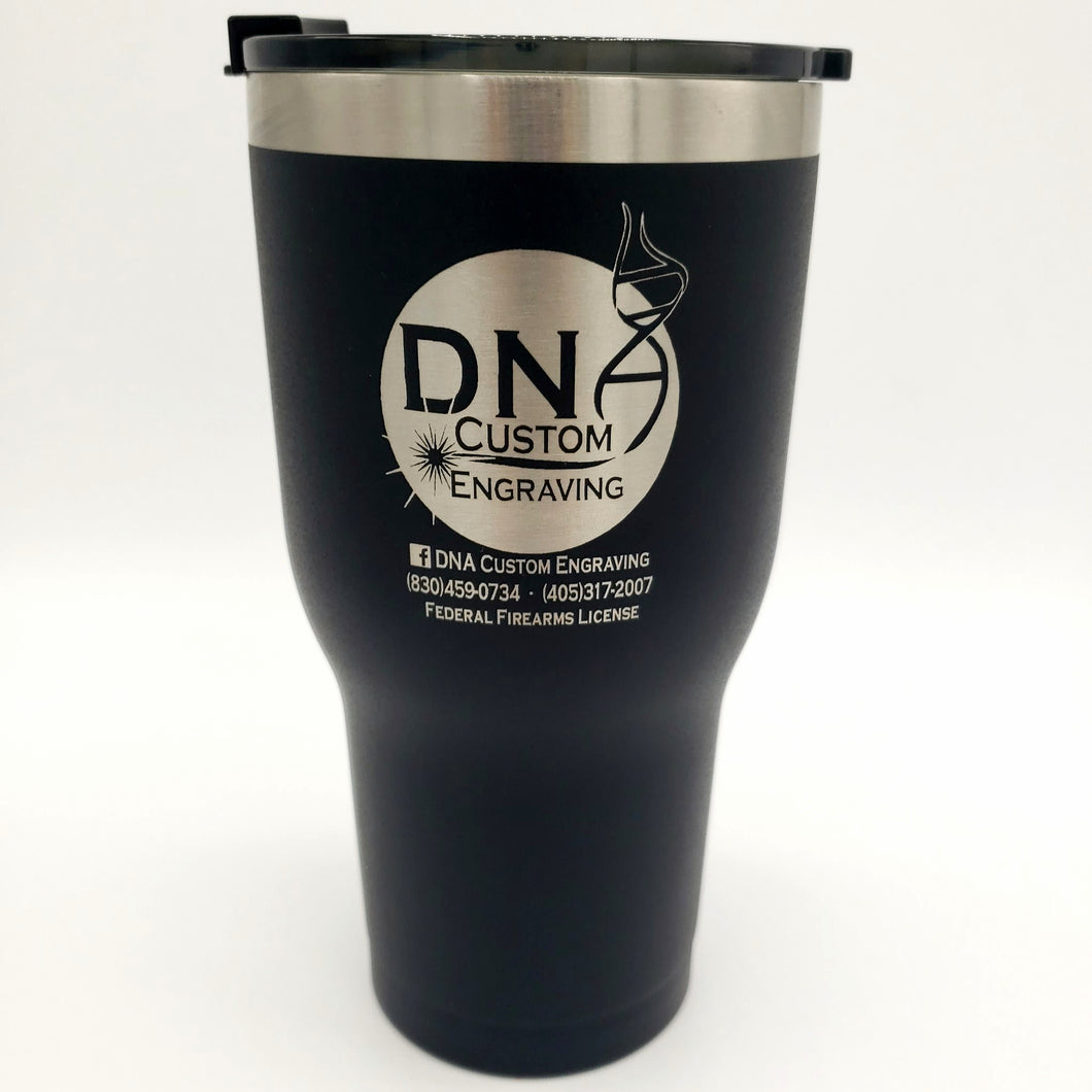 Matte Black DNA Custom 30oz