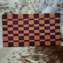 Purple Heart and German Beech Cutting Board