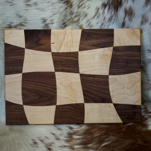 Maple & Walnut Drunken Board