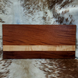 Mahogany & Maple XL Cutting Board