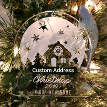 Snow Globe Housewarming Ornament
