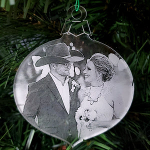 Custom Photograph Ornament