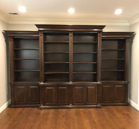 Pattagonia Custom 4 Unit Bookcase