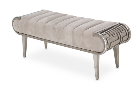 Roxbury Park Channel Tufted Bed Bench
