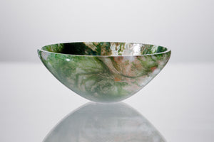 Moss Agate Bowl