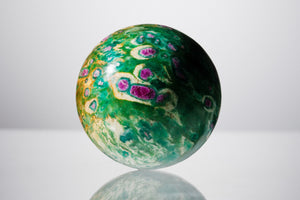 Ruby Zoisite 10'' Sphere