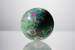 Ruby Zoisite 9'' Sphere