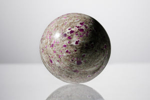 Ruby Granite Sphere