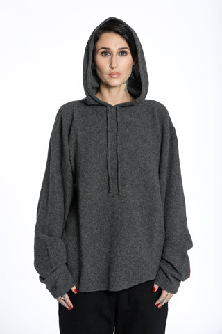 ENDLESS HOODY-CHARCOAL_WOMEN