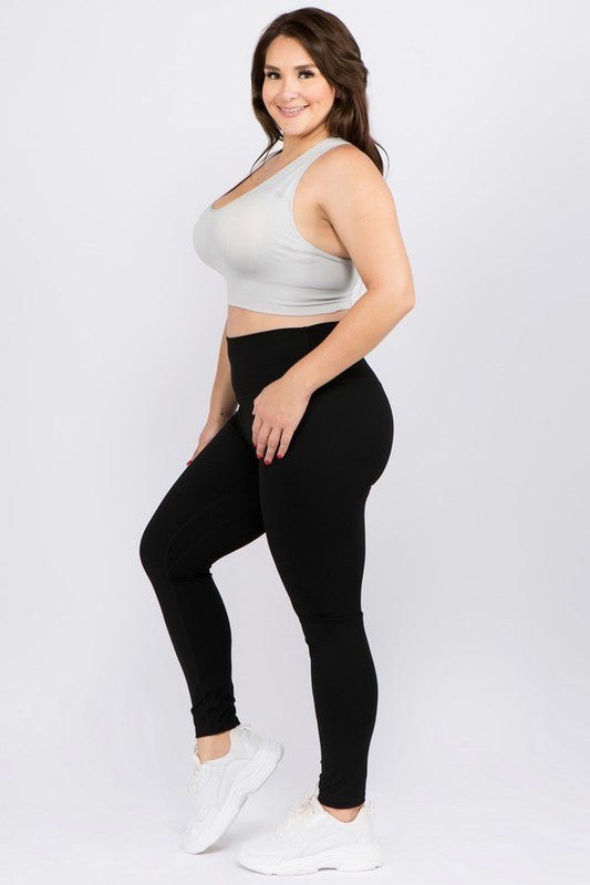 CURVY COMPRESSION BUTTERY SOFT LEGGINGS