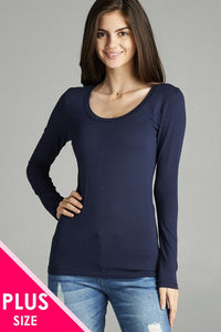 CURVY SCOOP TOP (3 OPTIONS)
