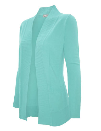 CURVY OPEN CARDIGAN - COLOR OPTIONS