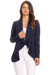 ALL ABLAZE BLAZER - NAVY AND BLACK