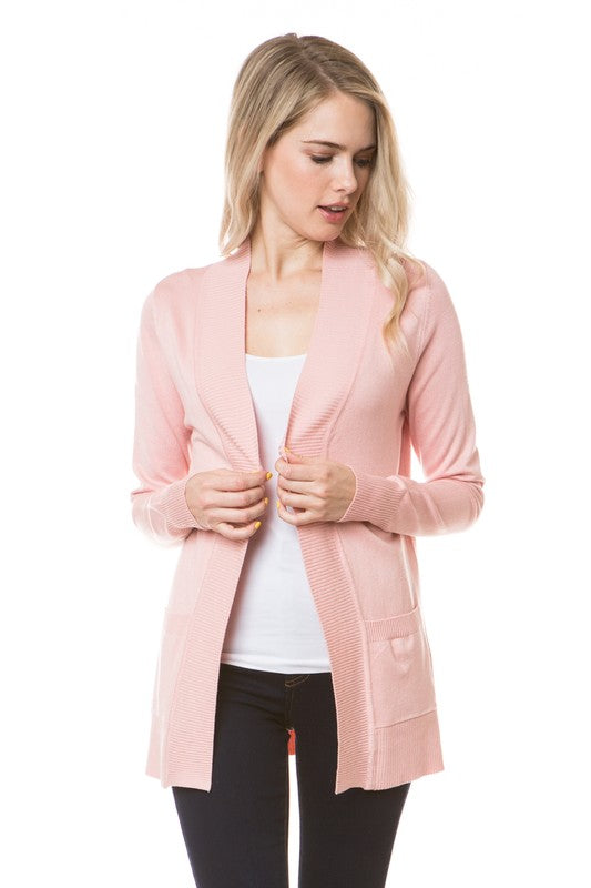 OPEN CARDIGAN - COLOR OPTIONS