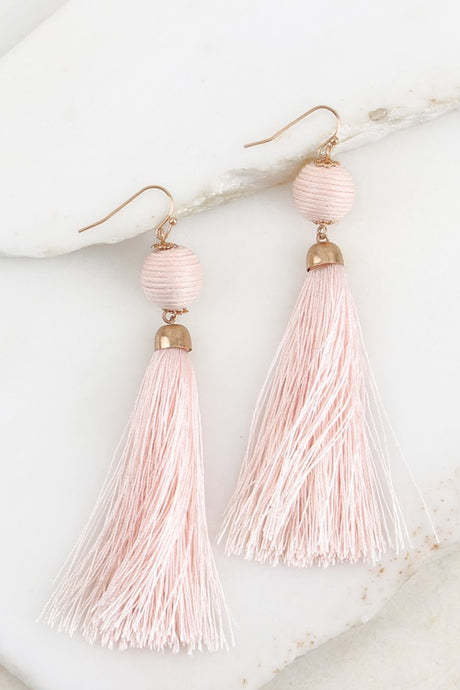 TASSEL EARRINGS (3 COLORS AVAIL)