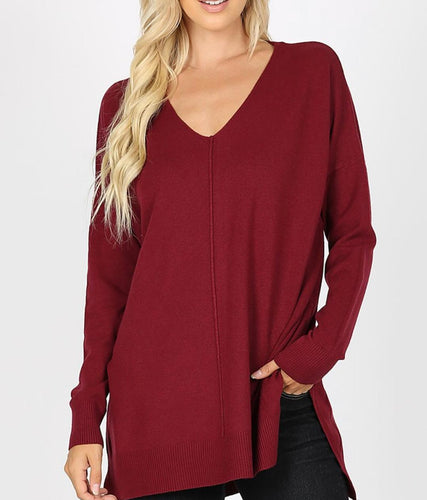 CURVY DREAMER SWEATER (COLOR OPTIONS)