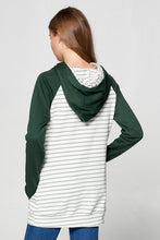 DOUBLE HOODIE - GREEN