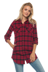 TRUE FLANNEL TOP