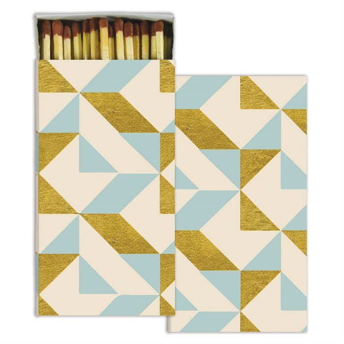 GOLD GEO BOXED MATCHSTICKS
