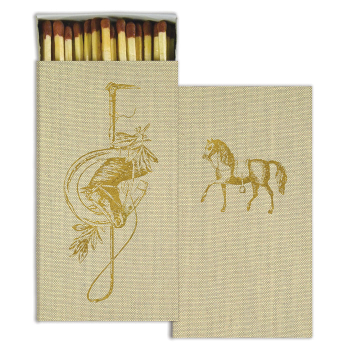 GOLD HORSE BOXED MATCHSTICKS