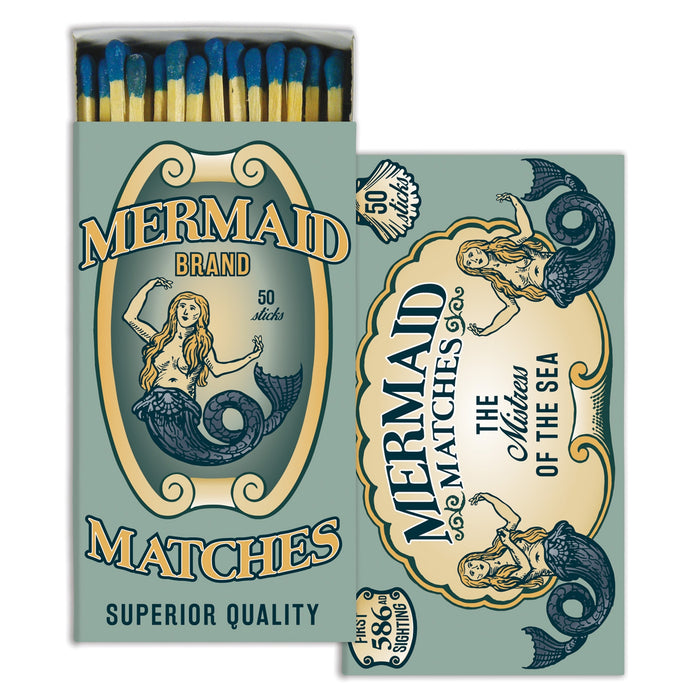 MERMAID BRAND BOXED MATCHSTICKS