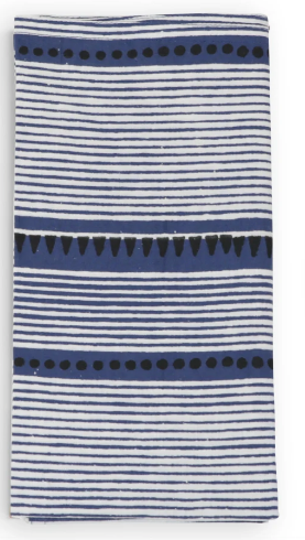 Layla Blue - Cotton Cambric Napkin - Set of 4