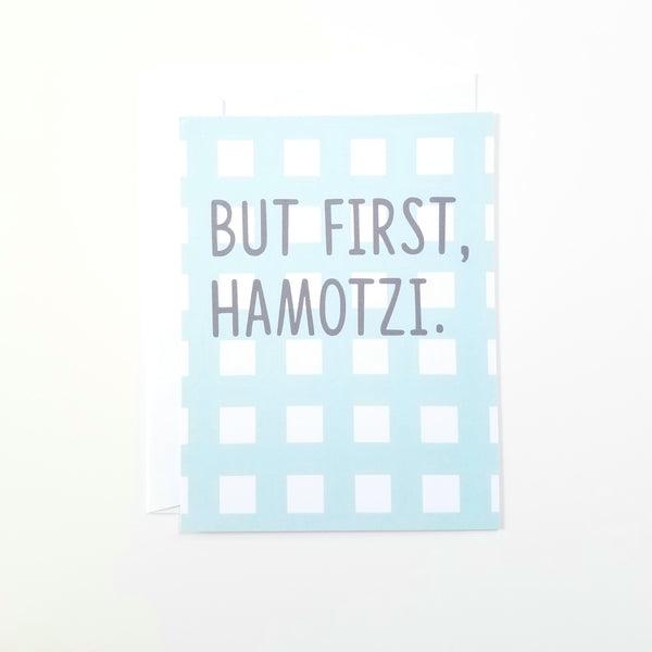 Hamotzi First Card