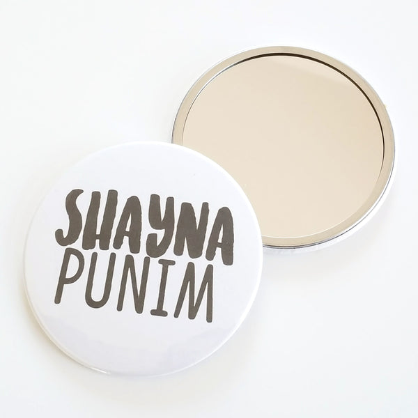 Shayna Punim Pocket Mirror