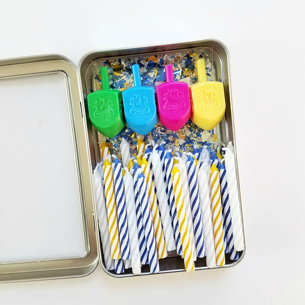 Hanukkah Necessities Travel Tin