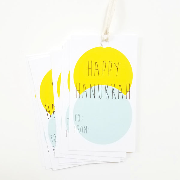 Hanukkah Gift Tags 10 Pack