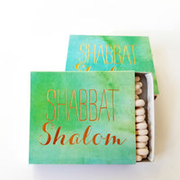 Shabbat Shalom Matches
