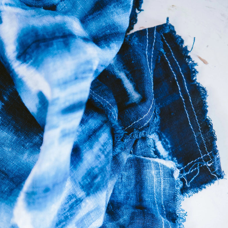 Shibori with Indigo CLICK FOR DATES