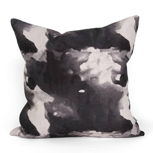 Jacaranda Cushion Charcoal