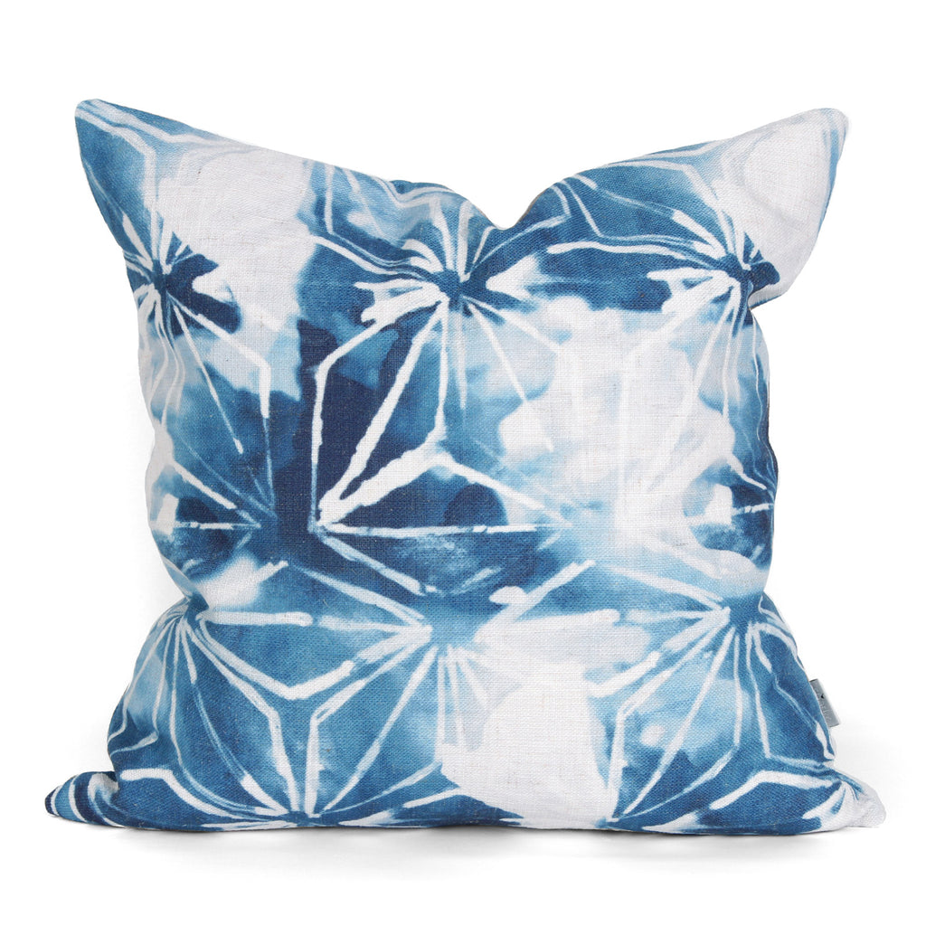 Lily Cushion Indigo