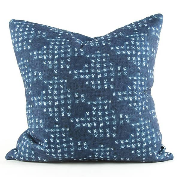 Barre Cushion Indigo