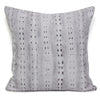 Stripe Cushion Silver