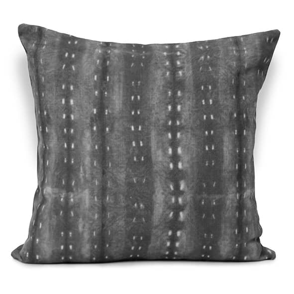 City Scape Night Cushion Charcoal