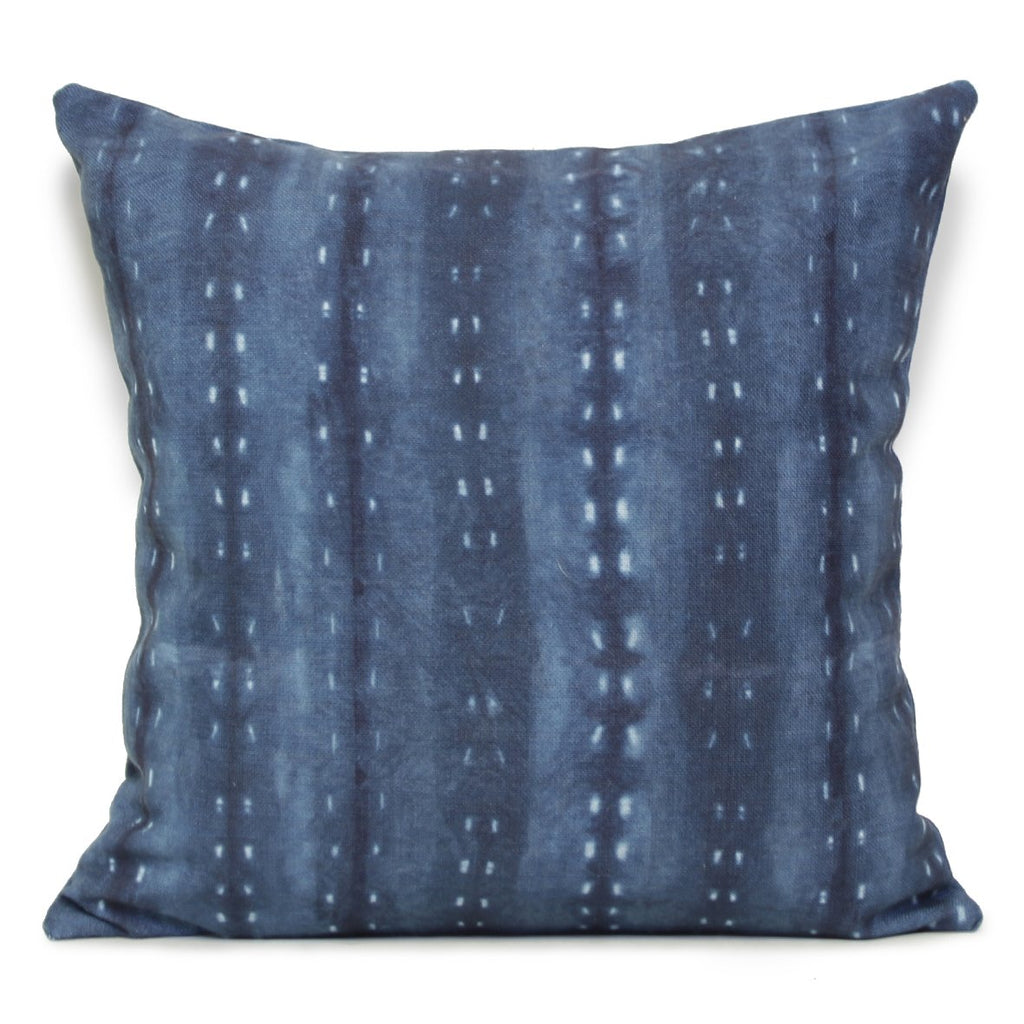 City Scape Night Cushion Indigo