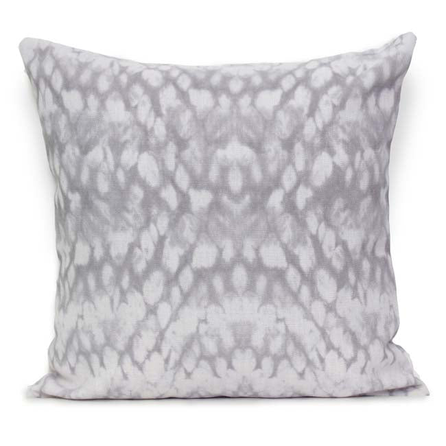 Entomology Cushion Silver