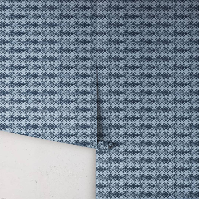 Shibori Ikat Wallpaper