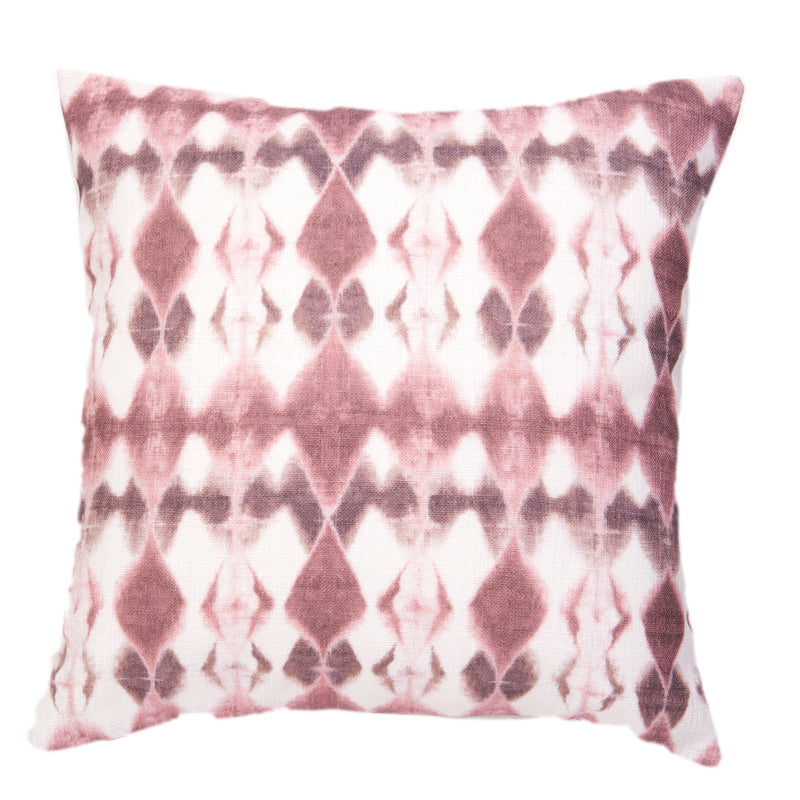 Lucy Diamonds Cushion Rose